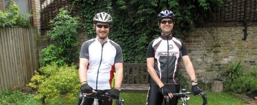 Sponsored bike ride from London to Lourdes